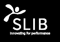 Slib logo white