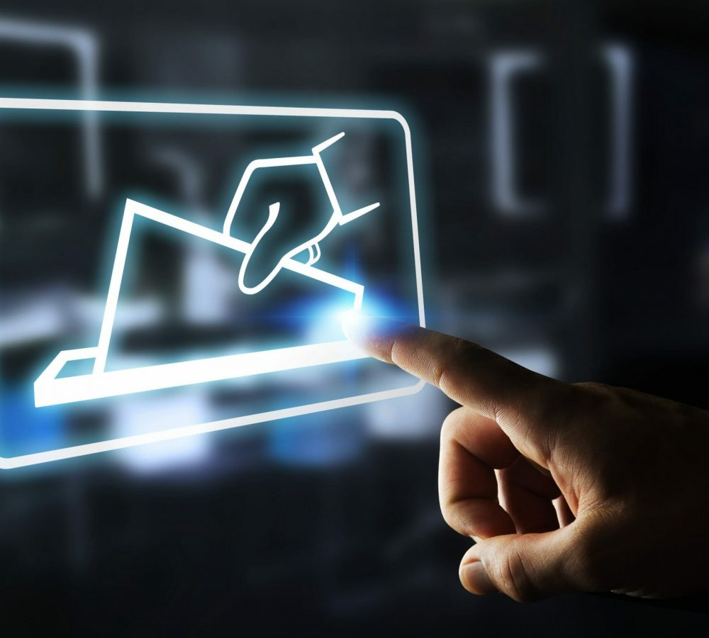 Plateforme digitale de vote électronique et de tenue de registre